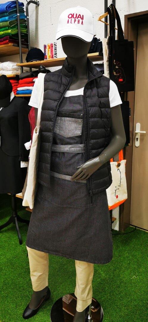 La vente de textile à Épinal